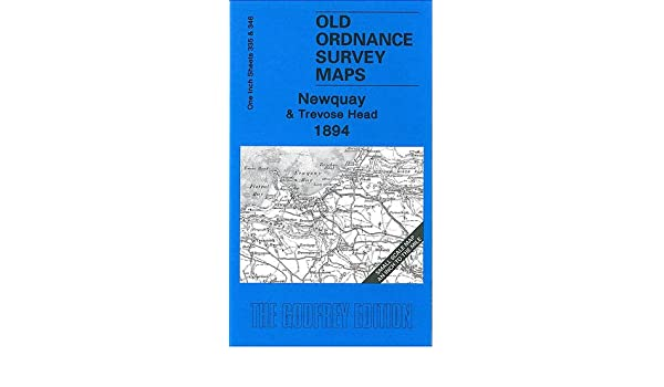 Old Ordnance Survey Maps Newquay /& Trevose Head  /& Map St Agnes 1894 Sheet 346
