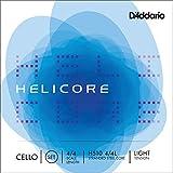 D\'Addario Bowed Jeu de cordes pour violoncelle D\'Addario Helicore, manche 4/4, tension Light
