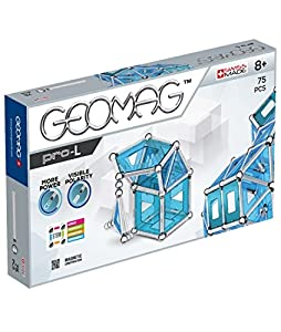 Geomag- Pro-L Construcciones magnéticas y Juegos educativos, Multicolor, 75 Piezas (23)