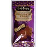 Harry Potter, Warner Brothers Milchschokoladen Frosch mit Zaubersammelkarten