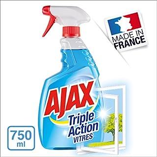 Ajax Triple Action Window Cleaner Spray, 750ml–Pack of 4