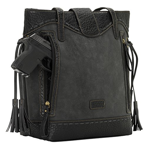 Banadana From American West  Êtop-handle Bags, Sac femme charcoall
