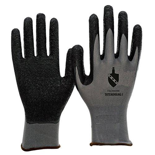 10-paires-de-gants-de-travail-avec-revetement-latex-tatendrang-i-en388-de-freiherr-taille-xxl