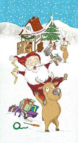 MK Handel Heimwerker Adventskalender 2017 Werkzeug-Set 24-teilige Weihnachtskalender Schrauben, Dübel, Bits, Stecknüsse