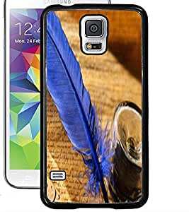 ColourCraft Lovely Feather Design Back Case Cover for SAMSUNG GALAXY S5 NEO