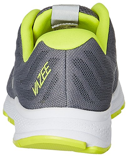 New Balance Men's Vazee Rush v2 Running Shoe, Grey/Yellow, 10 2E US GY2