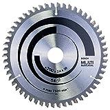 Bosch Zubehör 2608640510 Kreissägeblatt Multi Material 200 x 30 x 2,4 mm, 54