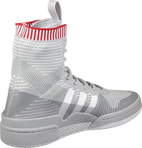 adidas Forum Winter PK, Scarpe da Fitness Unisex – Adulto Grigio (Gridos / Ftwbla / Escarl)