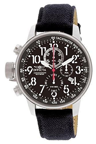 Invicta 1512 I-Force Men's Wrist Watch Stainless Steel Quartz Black Dial