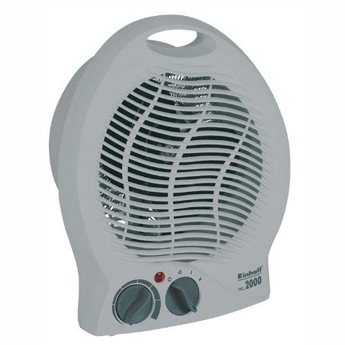 elektrisches heizgeblaese Einhell Heizlüfter HKL 2000 (2000 Watt, 2 Heizstufen, Ventilatorbetrieb, stufenloser Thermostatregler, Tragegriff)