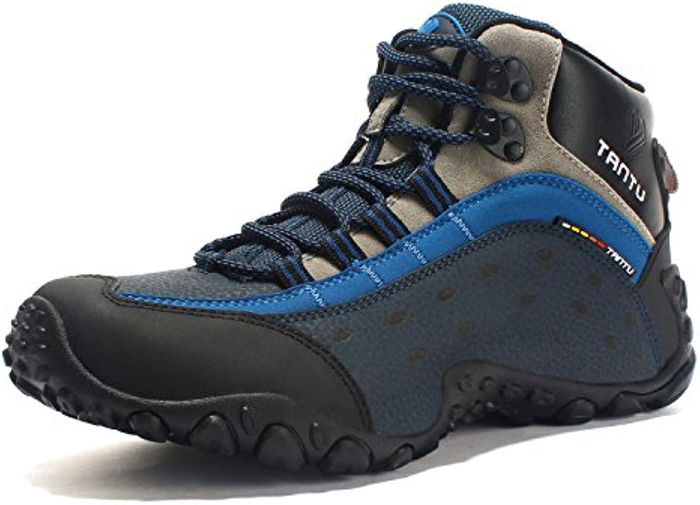 Hombre de senderismo senderismo Botas de cuero zapatos Senderismo Senderismo Guantes transpirable Comfort/suave...