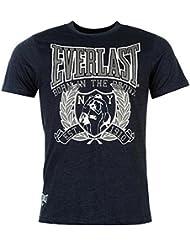 T-shirt EVERLAST Homme Marine ou Gris Taille aux Choix