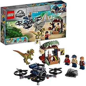 75934 LEGO® JURASSIC WORLD™ Dilophosaurus in fuga