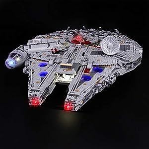 LIGHTAILING Set di Luci per (Star Wars Millennium Falcon) Modello da Costruire - Kit Luce LED Compatibile con Lego 75192… 0746362889043 LEGO