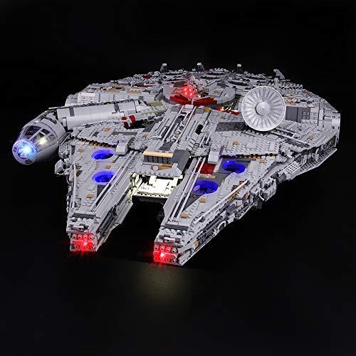LIGHTAILING Conjunto Luces Star Wars Halcón Milenario