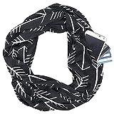 NEW Soft Women's Blanket Wrap Shawl Cape,Pocket Organizer, Scarf, Zipper Storage Pocket Collar, 4