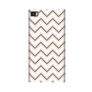 BrownPinkChevron Case for Samsung Galaxy S6 Edge Plus