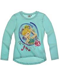 Disney fairies fée clochette sweat-shirt à manches longues pour fille 3 motifs