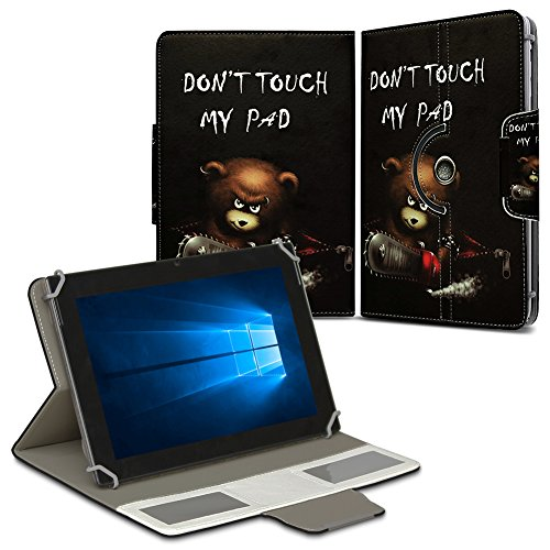 NAUC Schutz Hülle für 10-10.1 Zoll Tablet Tasche Schutzhülle Case Cover Bag, Motiv:Motiv 8, Tablet Modell für:ARCHOS 101c Platinum
