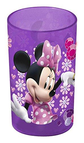 Disney Plastebecher Minnie Maus 230 ml, lila-rosa