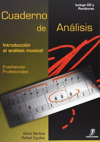 Introducción al análisis musical, grado medio. Cuaderno de análisis par Rafael Eguilaz Díaz