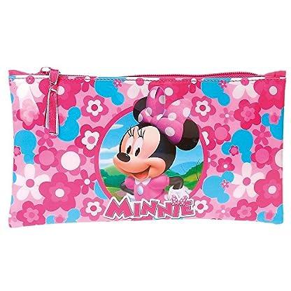 Minnie Mouse- Neceser Estuche portatodo, Color Rosa, 22 cm (Joumma 4034061)