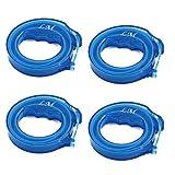 DealMux Kunststoff Küchen Haar Abflussrohr Clog Remover Reinigungswerkzeug 18 Zoll Länge Blau