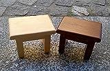 Mini Holz Bankett Kirsche und Eiche