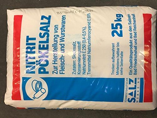 Pökelsalz 25 Kg Sack 0,4-0,5% Nitrit