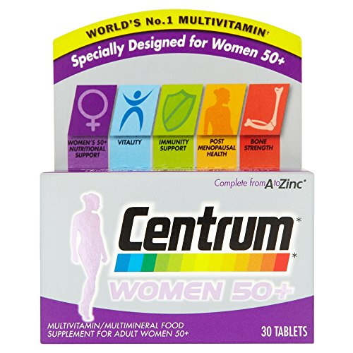 Centrum Women 50 Plus - Pack Of 30 Tablets -