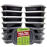 Best Freshware Meals - Freshware Meal Prep Containers [15 Pack] 1 Compartment Review