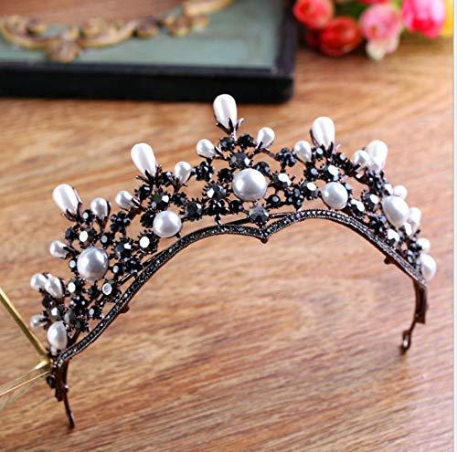 autschmuck Krone Frauenkopf Blume Haarspange Retro Einfach Edel Zart Elegant Heilig Kleid Zubehör ()