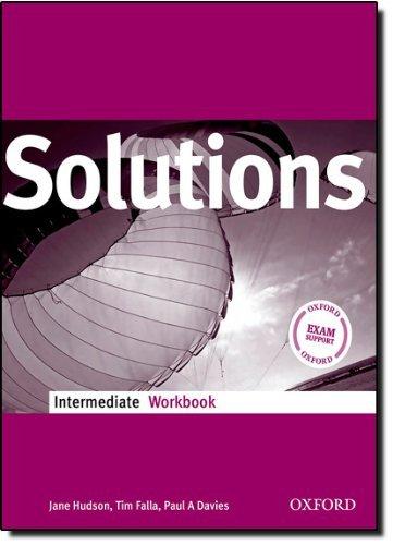 Solutions Intermediate: Workbook by Tim Falla (2008-09-04)