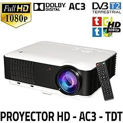 Unicview HD200 - Proyector (TDT, USB, HDMI, VGA, AC3)
