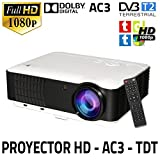 Best Tv proyectores DLP - Unicview HD200 - Proyector Review