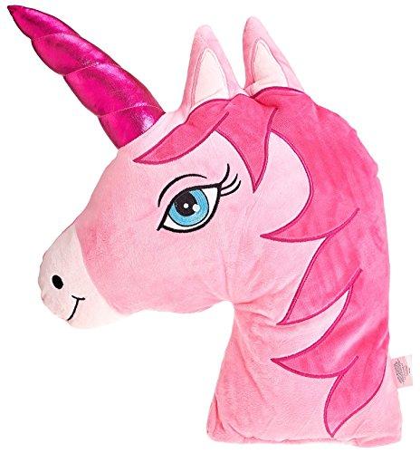 "Emoji - Unicorn Plush Pink - Eliza's® XL - 73cm 29"" x 46cm 18"""