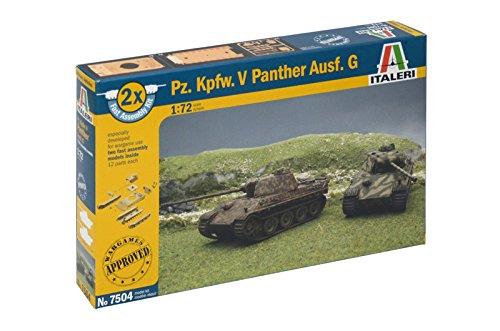 Italeri 7504S - Panzerkampfwagen.V Panther Ausführung G