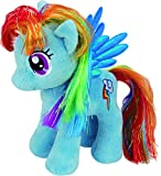 TY 41005 - My Little Pony Baby - Schmusetier Rainbow Dash, 15 cm