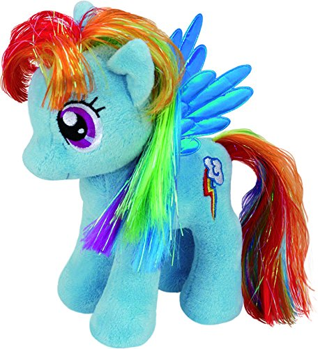 ty-uk-7-inch-my-little-pony-rainbow-dash-beanie