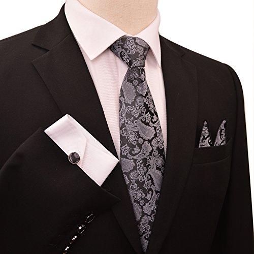Enjoymore - Cravate - Homme Gris