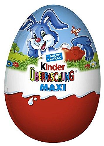 Maxi-Ei Classic, 4er Pack (4 x 100 g) (Schokolade-ei-spiele)
