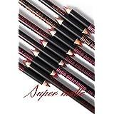 Me Now Super Matte High Precision Lip Liner Pencil (Set of 12) - P103