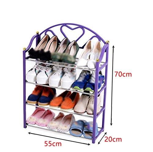 Garderobenschränke Mehrschichtige Kombination aus einfachem Schuh-Rack Creative Plastic...