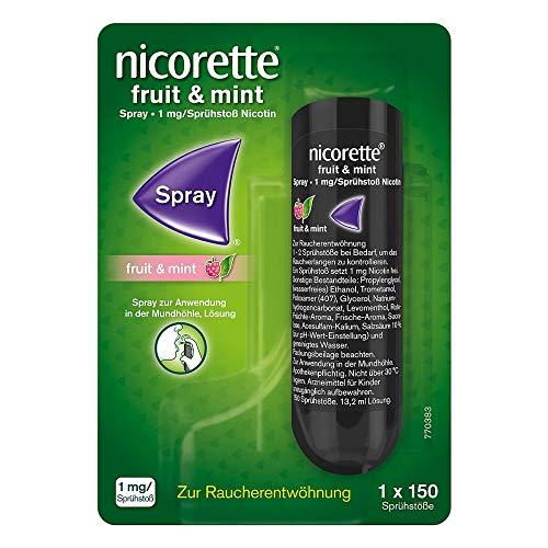 Nicorette Fruit & Mint Spray 1 mg/Sprühstoss 13.2 ml