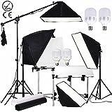 Abeststudio Table de prise de vue de base pour Appareil photo 60 x 130 cm Photographique Photo Top Video Studio Table De Prise De Vue Kit Eclairage de Lumière Froide