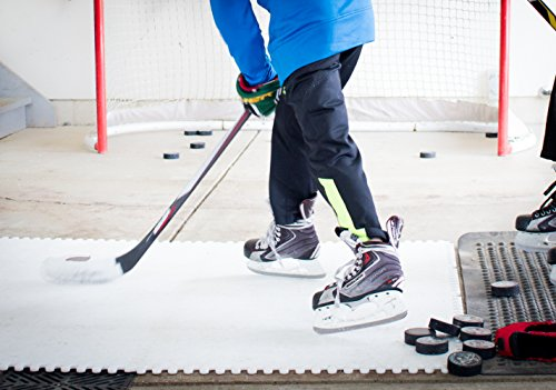 Skate Anytime - Synthetisches Eis für Hockey - Kunsteisplatten zum Skaten - Backyard Ice Rink - Starter Kit