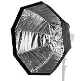 Walimex pro easy Softbox 90cm Broncolor Impact - Camera Kits (1.16 kg, 90 cm, 900 mm, Black, White)