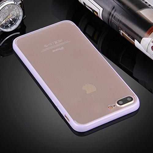 Hülle für iPhone 7 plus , Schutzhülle Für iPhone 7 Plus TPU + PC Transparente Schutzhülle ,hülle für iPhone 7 plus , case for iphone 7 plus ( SKU : Ip7p0897w ) Ip7p0897p