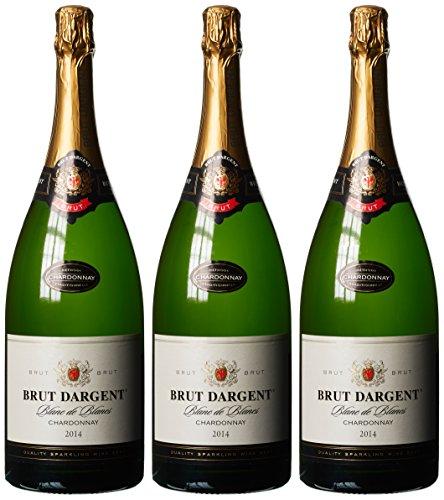 Dargent Brut Chardonnay Schaumwein Trocken in Cellophan (3 x 1.5 l)