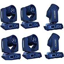 Eshine DMX 16/20 Channels Touch Screen 7R Sharpy Beam 230W Moving Head Light stage Lighting For Wedding Christmas Birthday DJ Disco KTV Bar Event Party Show (6PCS)